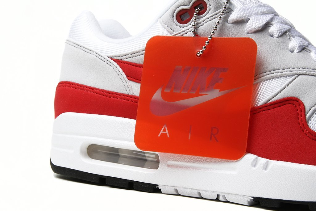 online store d1a57 45032 Nike Air Max 1 OG Anniversary University Red 2018