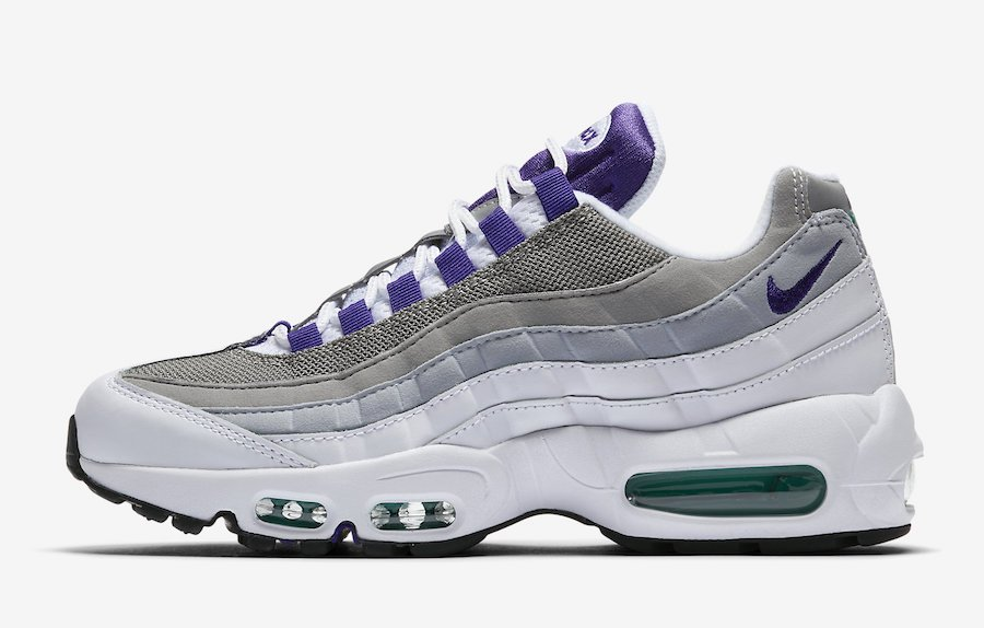 2384ee81b5 Nike Air Max 95 Grape 307960-109 2018 Release Info | SneakerFiles