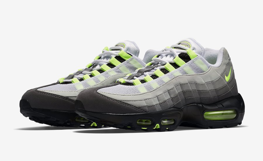 exclusive deals clearance sale get cheap Nike Air Max 95 OG Neon 554970-071 2018 | SneakerFiles