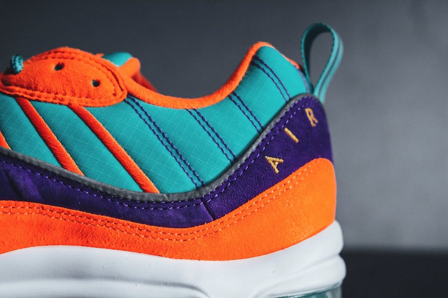 lowest price 2207a 0856d Nike Air Max 98 Cone Tour Yellow Hyper Grape 924462-800