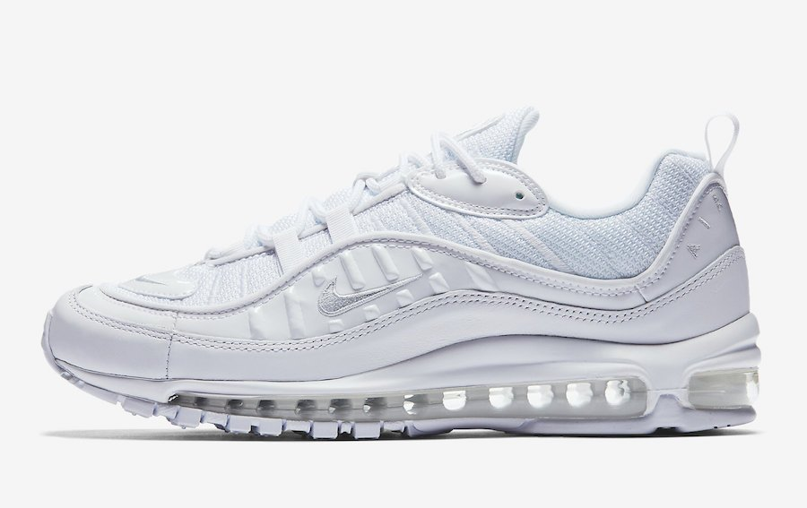 Nike Air Max 98 Triple White 640744-106