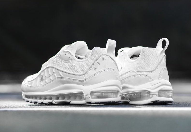 Nike Air Max 98 Triple White 640744-106 Release Date