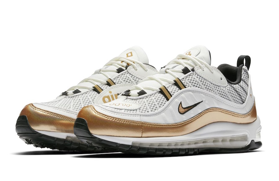 42ffe98e36 Nike Air Max 98 UK White Gold Release Date