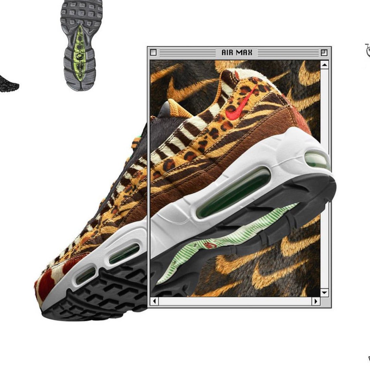watch ed89c 44a8b Nike Air Max Animal Pack Release Details
