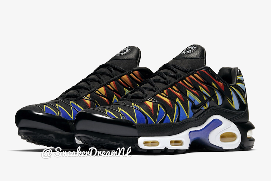 Nike Air Max Plus TN Hyper Blue Tiger Release Date | SneakerFiles
