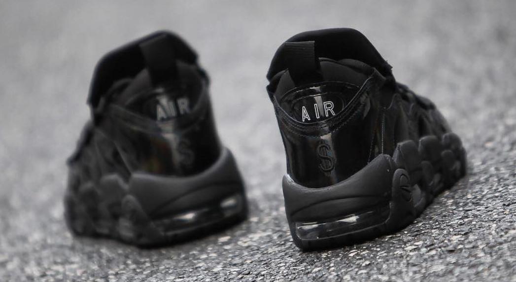 Nike Air More Money Los Angeles Black Release Date