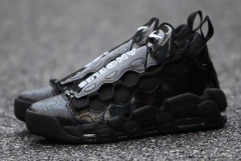 Nike Air More Money Los Angeles Black Release Date