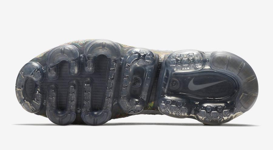Nike Air VaporMax Grey Multi-Color 849558-019