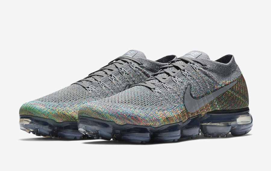 Nike Air VaporMax Grey Multi-Color 849558-019
