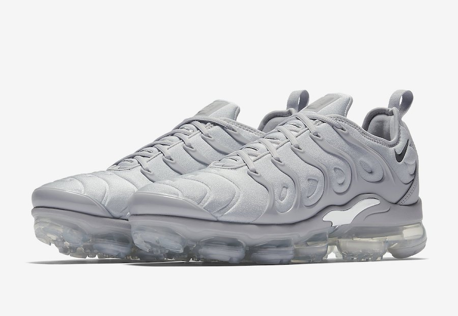 e1d5e6bb96c Nike Air VaporMax Plus Cool Grey 924453-005
