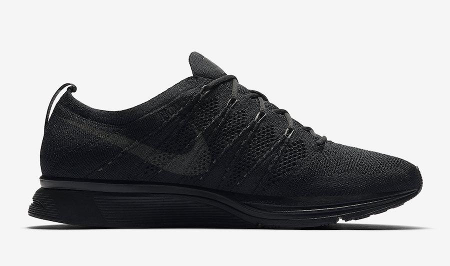 Nike Flyknit Trainer Triple Black AH8396-004 Release Date
