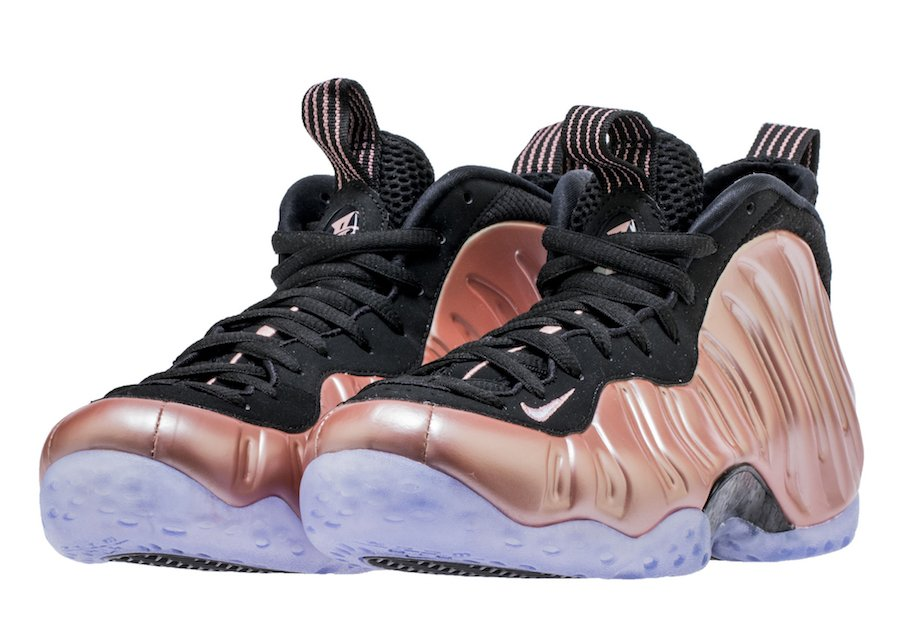 Nike Foamposite One Elemental Rose Black 314996-602