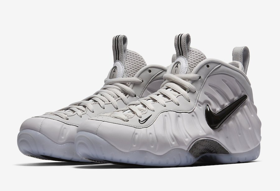 buy popular 790cf c1195 Nike Foamposite Pro All-Star Removable Swoosh AO0817-001