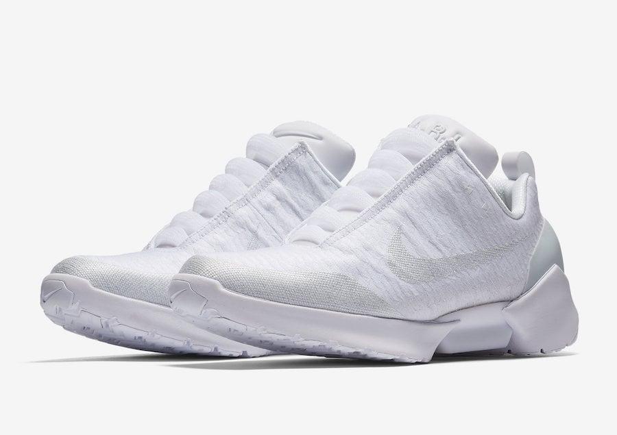 separation shoes f3567 0e72c Nike HyperAdapt 1.0 Triple White AH9389-102