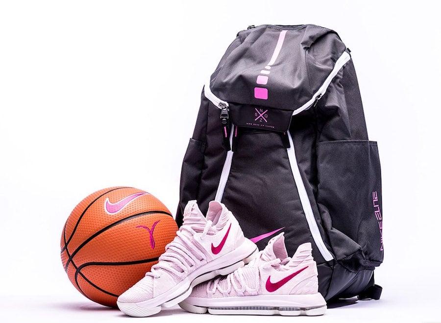 meet 6de97 b8cd4 Nike KD 10 Aunt Pearl AQ4110-600 Release Date | SneakerFiles