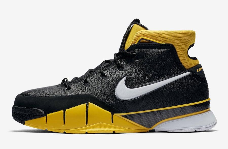 Nike Kobe 1 Protro AQ2728-003 Black White Varsity Maize