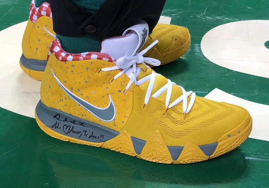 Nike Kyrie 4 Yellow Lobster