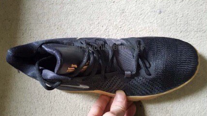 Nike Kyrie Black Gum Budget Sneaker
