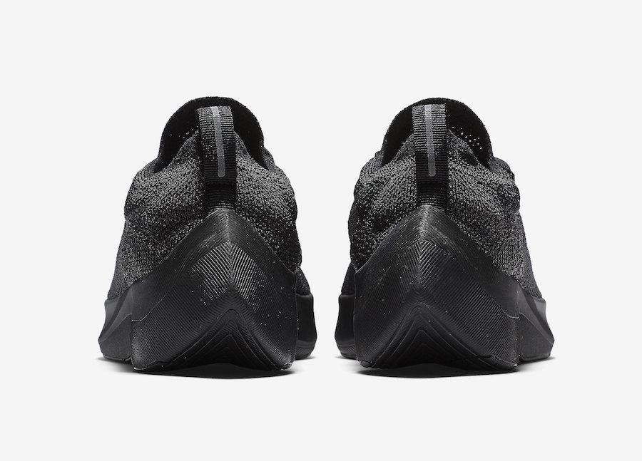 Nike Vapor Street Flyknit Black Anthracite AQ1763-001 Release Info
