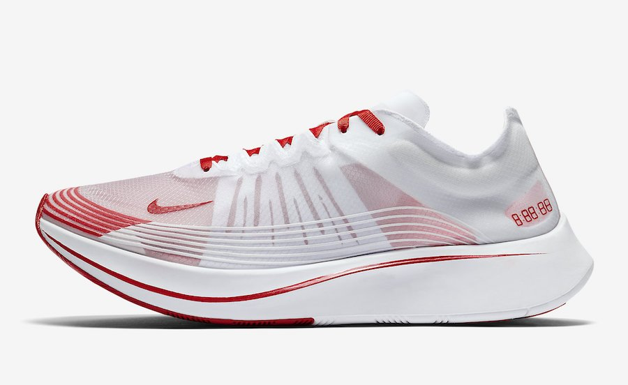 Nike Zoom Fly University Red AJ9282-100
