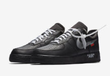Off-White Nike Air Force 1 Low Black AV5210-001 Release Date Info