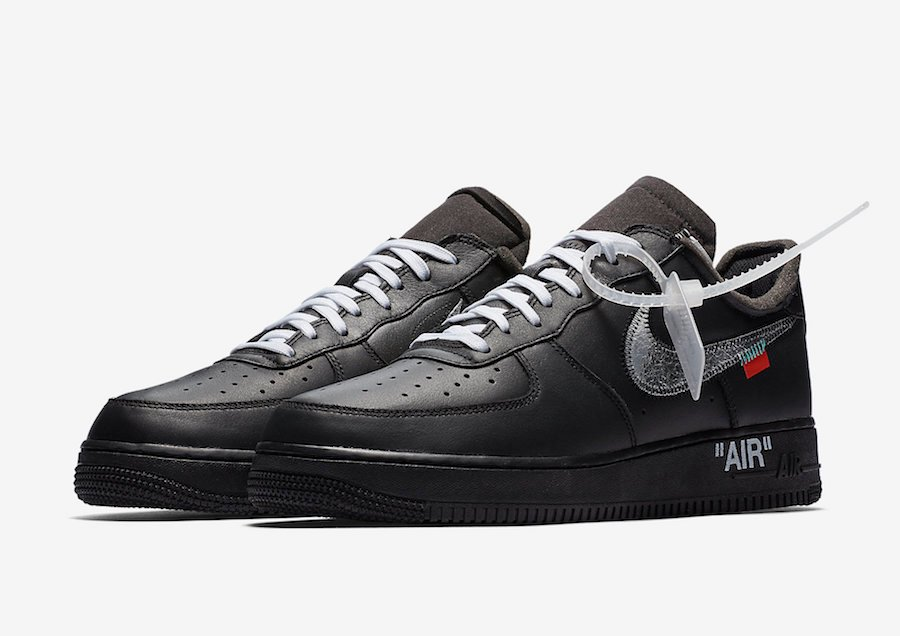 off white nike air force 1 release date