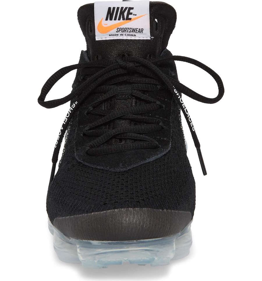 Off-White Nike VaporMax Black 2018