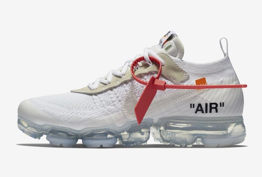Off-White x Nike VaporMax White AA3831-100