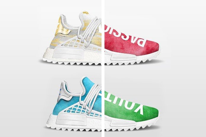 Pharrell adidas NMD Human Race China Exclusive
