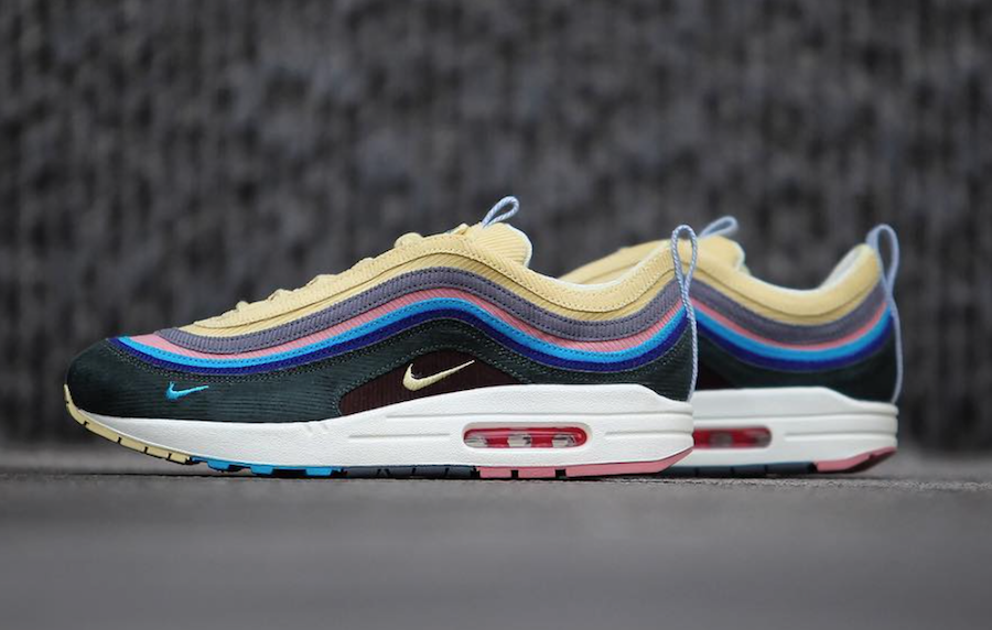 Sean Wotherspoon Nike Air Max 1/97 Medial Side