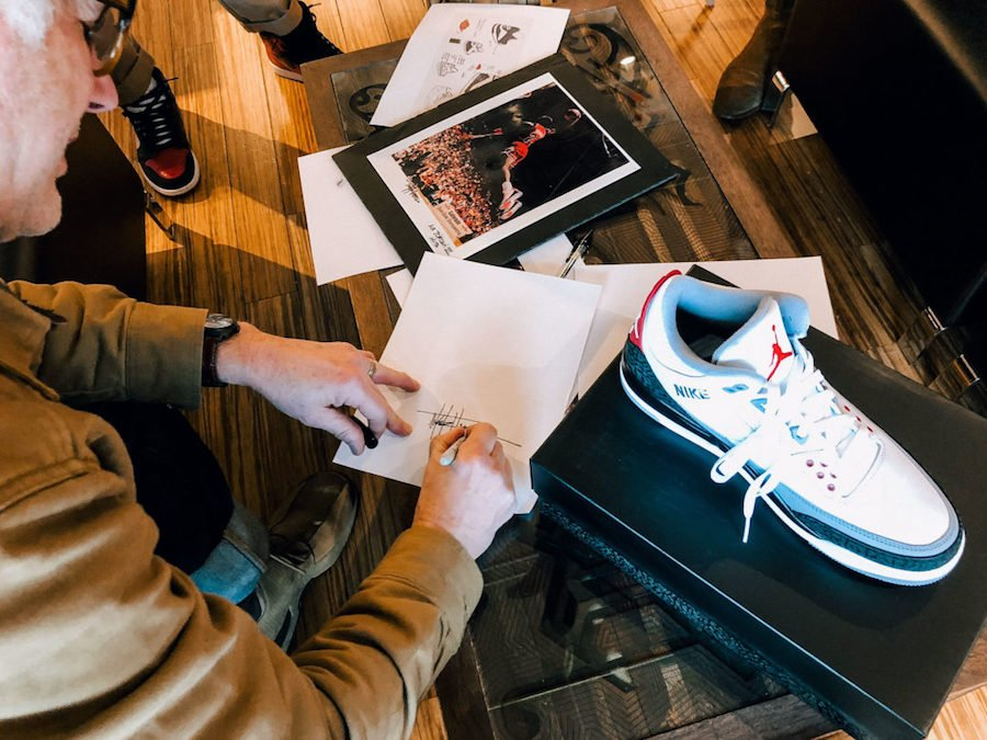 Tinker Hatfield Air Jordan 3 History