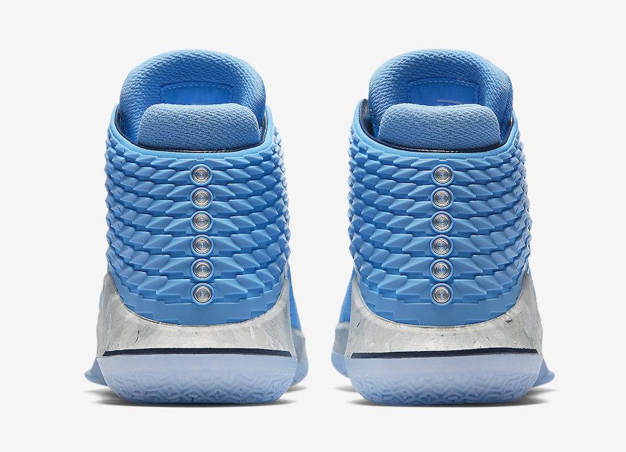 UNC Air Jordan 32 Tar Heels