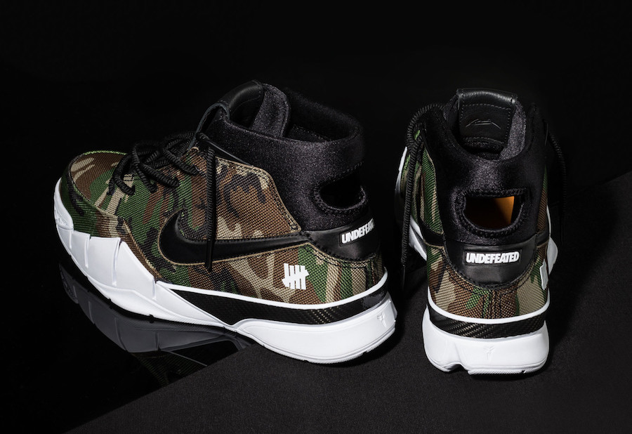 Undefeated Nike Kobe 1 Protro Camo Release Date