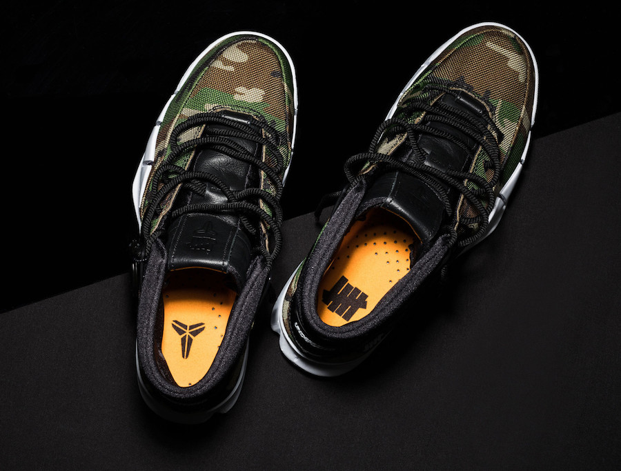 Undefeated Nike Kobe 1 Protro Camo Release Date