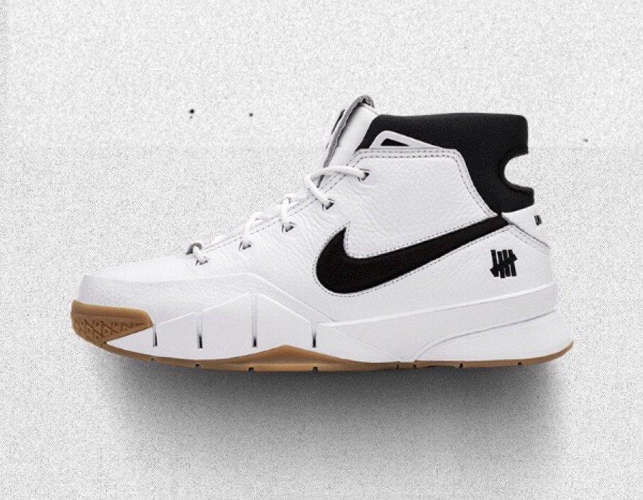 Undefeated Nike Kobe Protro White Gum