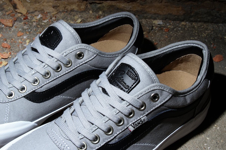 Vans Chima Pro 2 in Drizzle Grey and Black