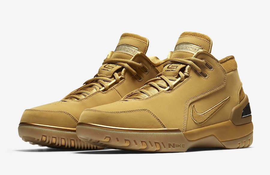 Wheat Nike Air Zoom Generation LeBron AQ0110-700