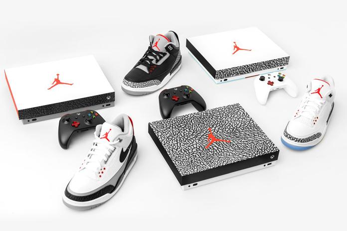 XBOX One X Air Jordan 3 Console