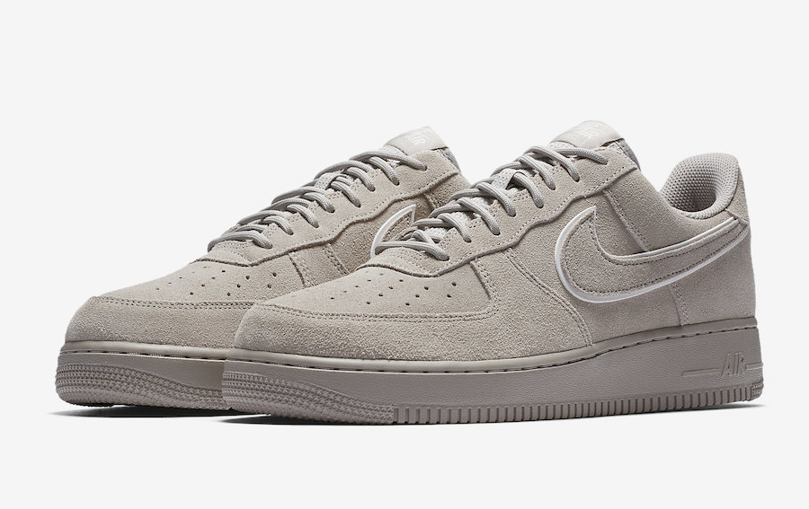 Nike Air Force 1 Low Grey Suede AA1117-201
