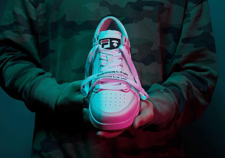 AAPE by A Bathing Ape Fila Original Tennis Release Date