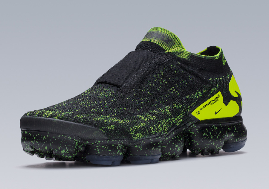 Acronym Nike VaporMax Black Volt AQ0996-007