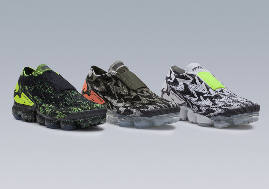 1fb115e6aa Acronym Nike VaporMax Moc 2 Release Dates, Info | SneakerFiles