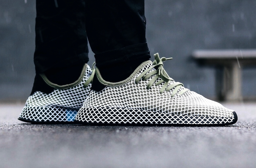 adidas Deerupt JD Sports Olive