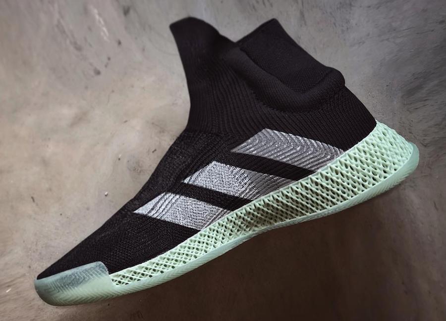 adidas FutureCraft 4D Basketball Shoe Black