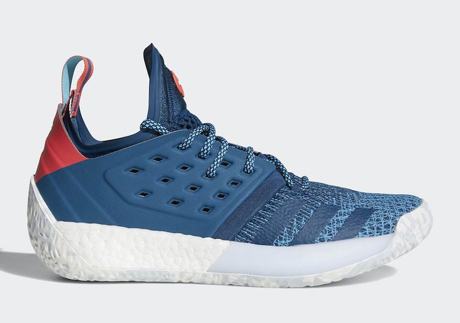 lowest price aaba4 fb2ee adidas Harden Vol 2. Blue Night AH2216