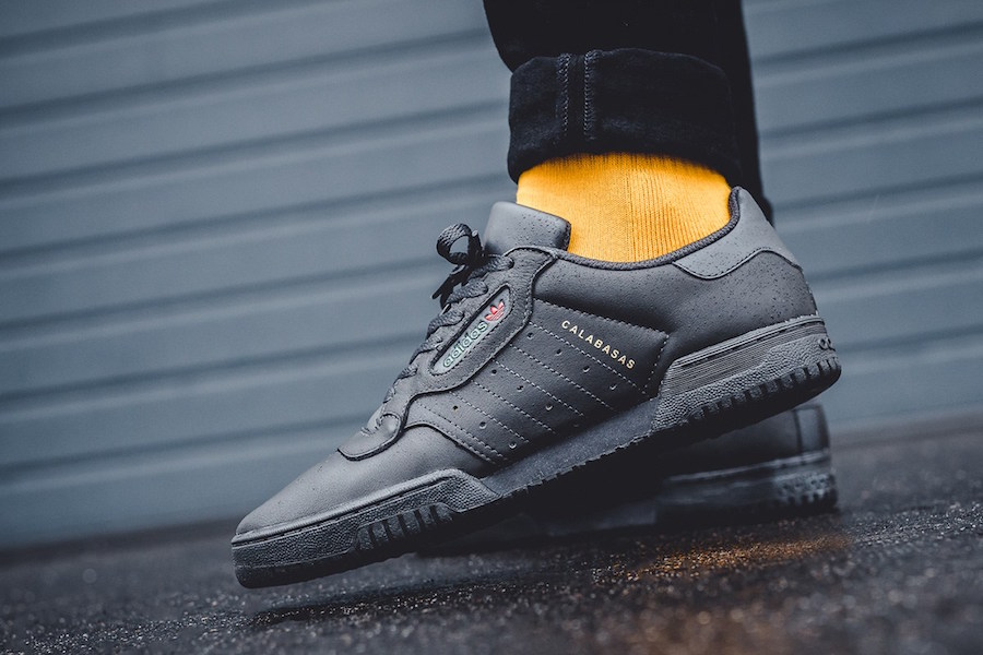 adidas Yeezy PowerPhase Black On Feet