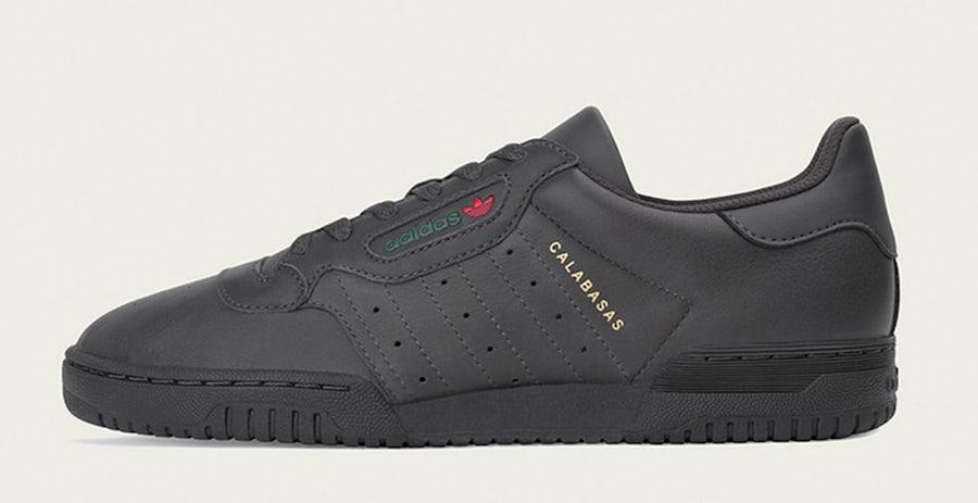 adidas Yeezy PowerPhase Calabasas Black Release Date