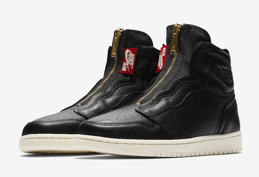 Air Jordan 1 High Zip Black AQ3742-016