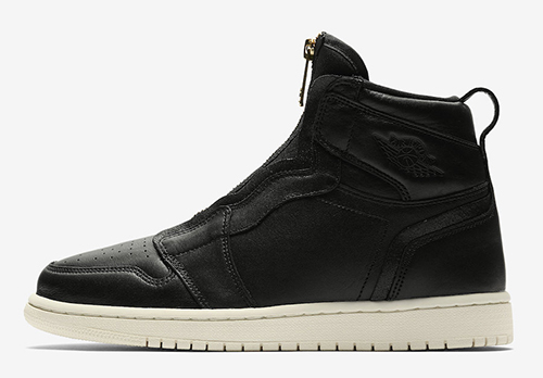 cheaper 10e97 2489d Air Jordan 1 High Zip Triple Black Release Date