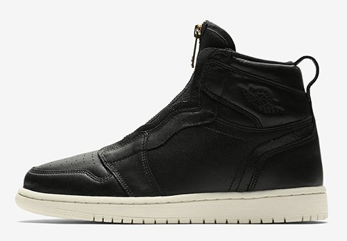 Air Jordan 1 High Zip Triple Black Release Date
